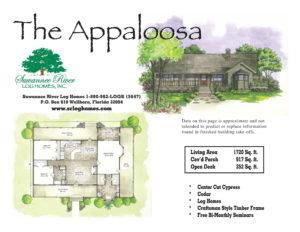 Appaloosa Log Homes