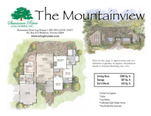 Mountainview Log Homes