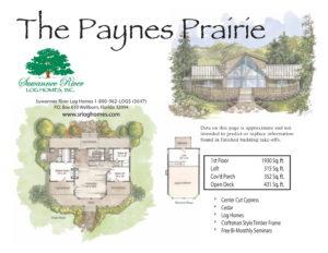 Paynes Prairie Log Homes